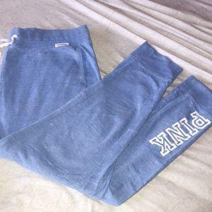 Light Blue Victoria Secret PINK Sweat Pants